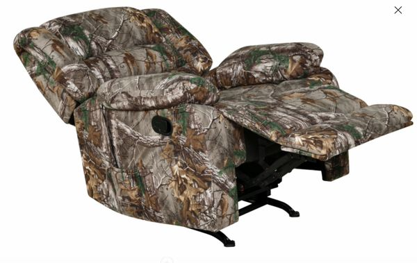 New!! Recliner, camouflage furniture, USB port, heater, massage chair, massage recliner