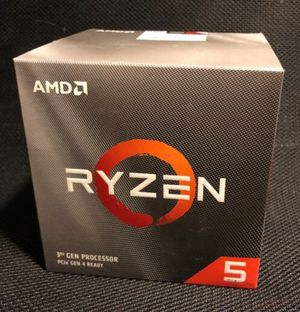 AMD Ryzen 5 3600X 6 core 12 thread unlocked brand new for Sale in Grapevine, TX
