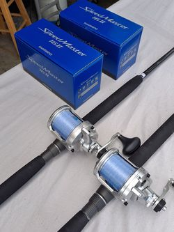 2 NEW Shimano Speed master 16..2 Speed With New Custom Rods....800.00 For Both for Sale in Hollywood,  FL