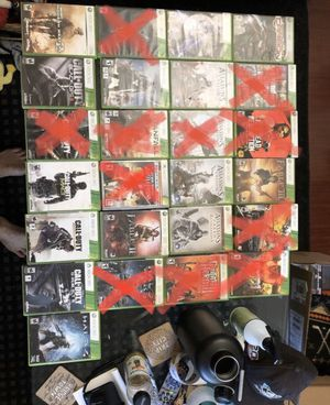 Xbox 360 Games For Sale for Sale in Lake Forest, CA