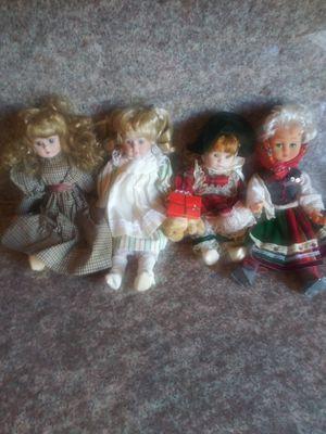 10 porcelin dolls for Sale in San Jose, CA