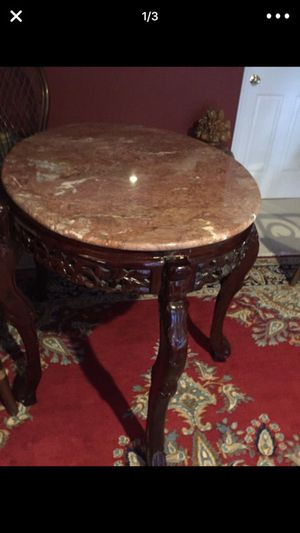 Marble top table for Sale in Ashburn, VA