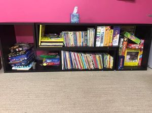 Book shelves with games for Sale in Sterling, VA