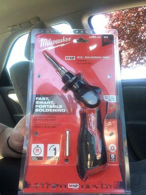 Milwaukee soldering iron for Sale in Redmond, WA