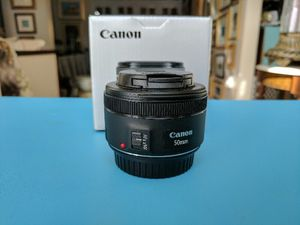 Canon EF 50mm f/1.8 STM Lens for Sale in San Francisco, CA