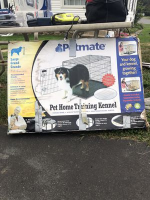 Petmate large dog creat. Never used. 36/24/27 for Sale in Waterbury, CT