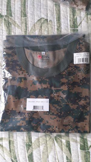 Digital Woodland Camo Shirt for Sale in Sunny Isles Beach, FL