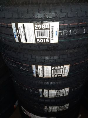 St 2257515 trailer tires on sale brand new set of 4 tires for Sale in Tacoma, WA