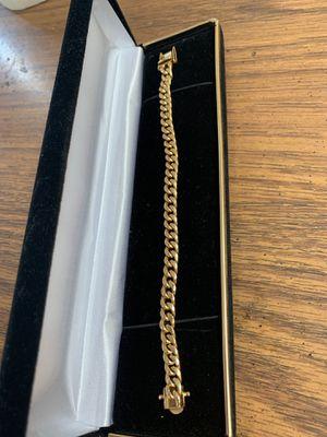 14k Box Lock Bracelet for Sale in Gaithersburg, MD