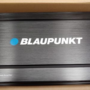 Car amplifier : Brand new BLAUPUNKT 2000 watts 2 Channel ab class amplifier 2 0hm built in crossover 25a×2 fuses remote sub control for Sale in Downey, CA