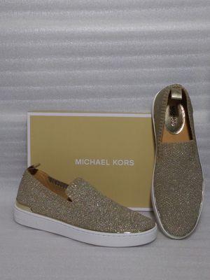 Michael Kors slip on sneakers. Size 10 flat women's shoe. Brand new in box for Sale in Portsmouth, VA