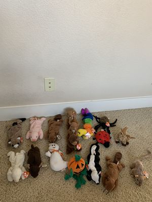 TY Beanie Baby Lot, Random lot 18 Total for Sale in Tempe, AZ