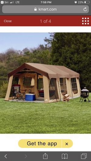 Huge tent with front porch for Sale in Spencer, IN