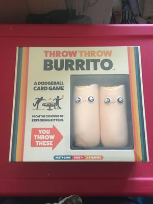 Board game - Throw Throw Burrito - brand new for Sale in Milwaukie, OR
