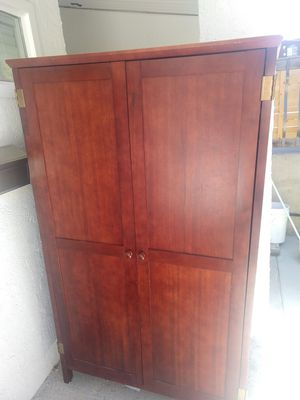 Large cabinet with pull out desk for Sale in Orem, UT