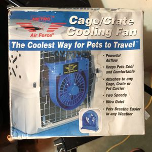 Dog crate fans for Sale in Sacramento, CA