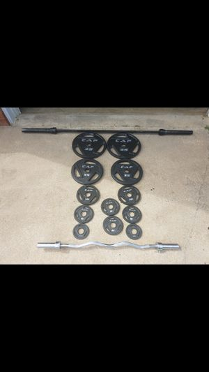 300lb weight set for Sale in Winston-Salem, NC