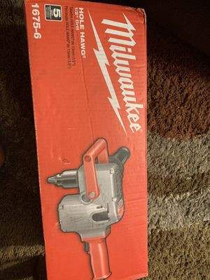 Milwaukee hole hawg 1/2 drill for Sale in Garden Grove, CA