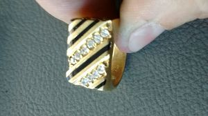 14k men's ring with stones for Sale in San Francisco, CA