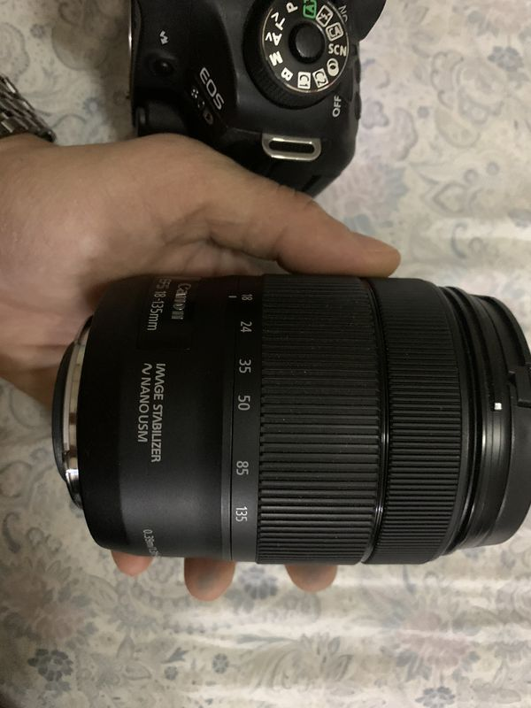 Canon EOS 80D and EF-S 18-135mm Lens