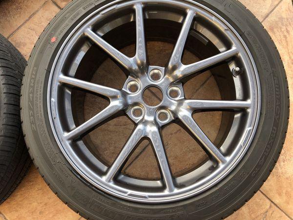 "Tesla Model 3 18"" Aero Wheels and Tires w/ TPMS Sensors ..."