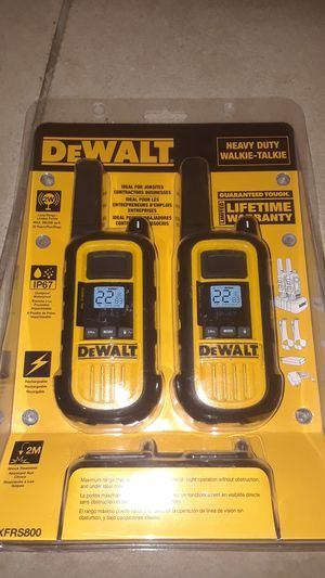 Dewalt walkie talkie for Sale in Phoenix, AZ