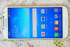 Samsung Galaxy S4 Verizon/T-Mobile/MetroPCS/AT&T/Cricket Phone New Without Box Clear ESN White for Sale in Glendale, AZ