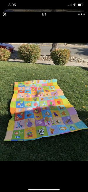 Free!! Two sided Baby mat. Side 1 ABC; side 2 animals for Sale in San Jose, CA
