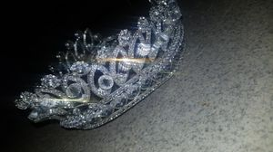 Trendy Diadem Siver Crystal Tiara /Crown for Sale in Phoenix, AZ