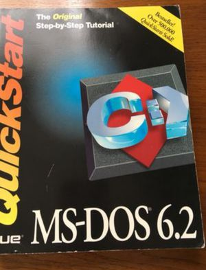 MS DOS 6.2 Book for Sale in Midlothian, VA