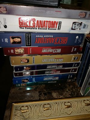 Greys all the seasons for 30 dollars great Christmas present for Sale in Lakeland, FL
