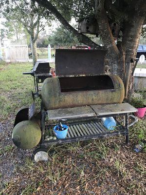 BBQ n smoker heavy metal tanks for Sale in Frostproof, FL