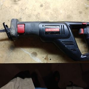 Craftsman Cordless 19.2v Reciprocating Saw for Sale in Georgetown, KY