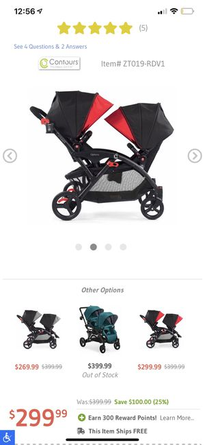 Double stroller for Sale in Stanton, CA