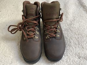 Women's Timberland 9.5 Leather Euro Hiking Boots for Sale in Seattle, WA