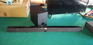 "Sylvania SB377W 37"" Deluxe Soundbar with Subwoofer for Sale in Stockton, CA"