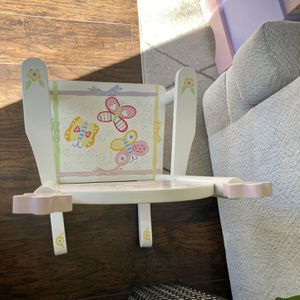 Wood Children Hand painted Rocking Chair for Sale in Orlando, FL