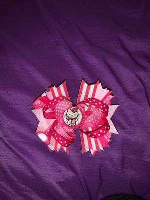 Hello Kitty hair bow for Sale in Bakersfield, CA