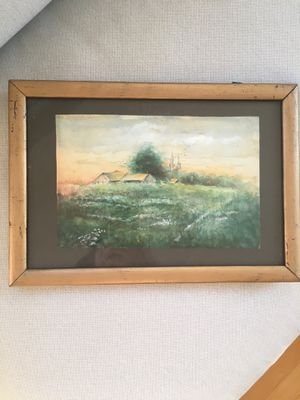 Antique Painting in Gold Frame for Sale in New York, NY