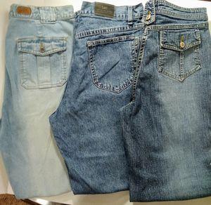 Lot of 3 Women's Jeans Size 14 for Sale in Sheridan, AR