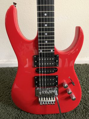 Brand New Electric Guitar W/ Floyd Rose Bridge for Sale in Corona, CA