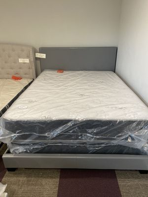 New Queen Size Bed Frame ( No Mattress ) for Sale in Winston-Salem, NC