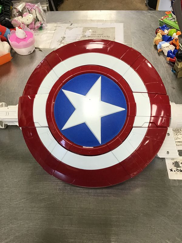 Toy captain America shield