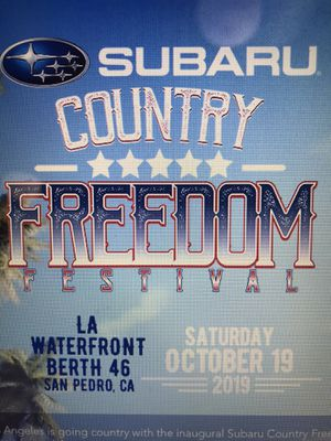 Country Freedom Festival tickets for Sale in Whittier, CA