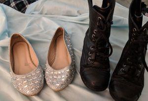 Toddler Girl's shoes 9c & 10c for Sale in Alexandria, VA
