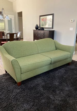Spring green couch for Sale in Bend, OR