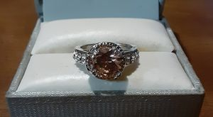 New Fashion CZ Champagne Sapphire Ring. for Sale in Pawtucket, RI