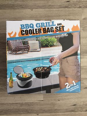BBQ Grill and cooler bag set for Sale in Brentwood, CA