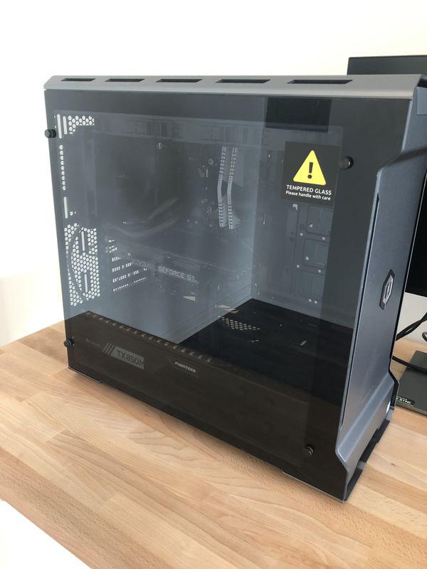 Gaming computer. i7, 1080Ti 11gb, SSD 500gb EVO, Adata 16gb, liquid cooling
