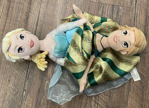 Disney Frozen Elsa Anna Reversible Plush Doll for Sale in Fontana, CA
